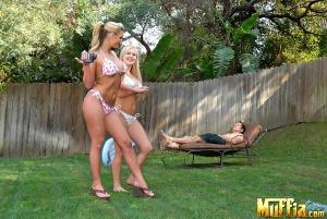 Big Booty Lesbians in String Bikinis