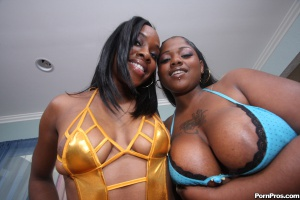 Big Booty Strippers in the Hood