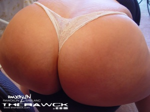 Big Round Ass in Lingerie