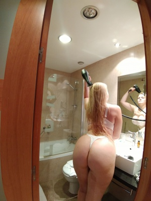 Blonde PAWG with a Thick White Ass