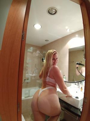 Giant White Ass Caught on Hidden Camera
