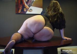 Rawcklin Sablanc's Huge BBW Butt