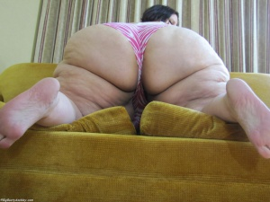 SSBBW PAWG with a massive ass