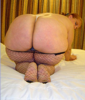 Super Huge White Wide Butts