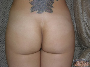 Trashy Big Ass Amateur with a Tramp Stamp